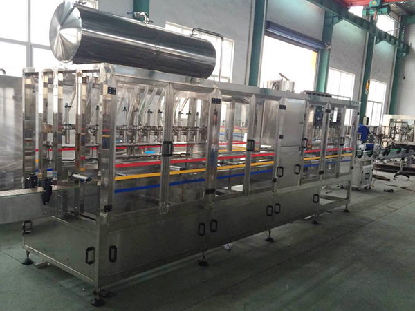 Linear red filling and sealing production line